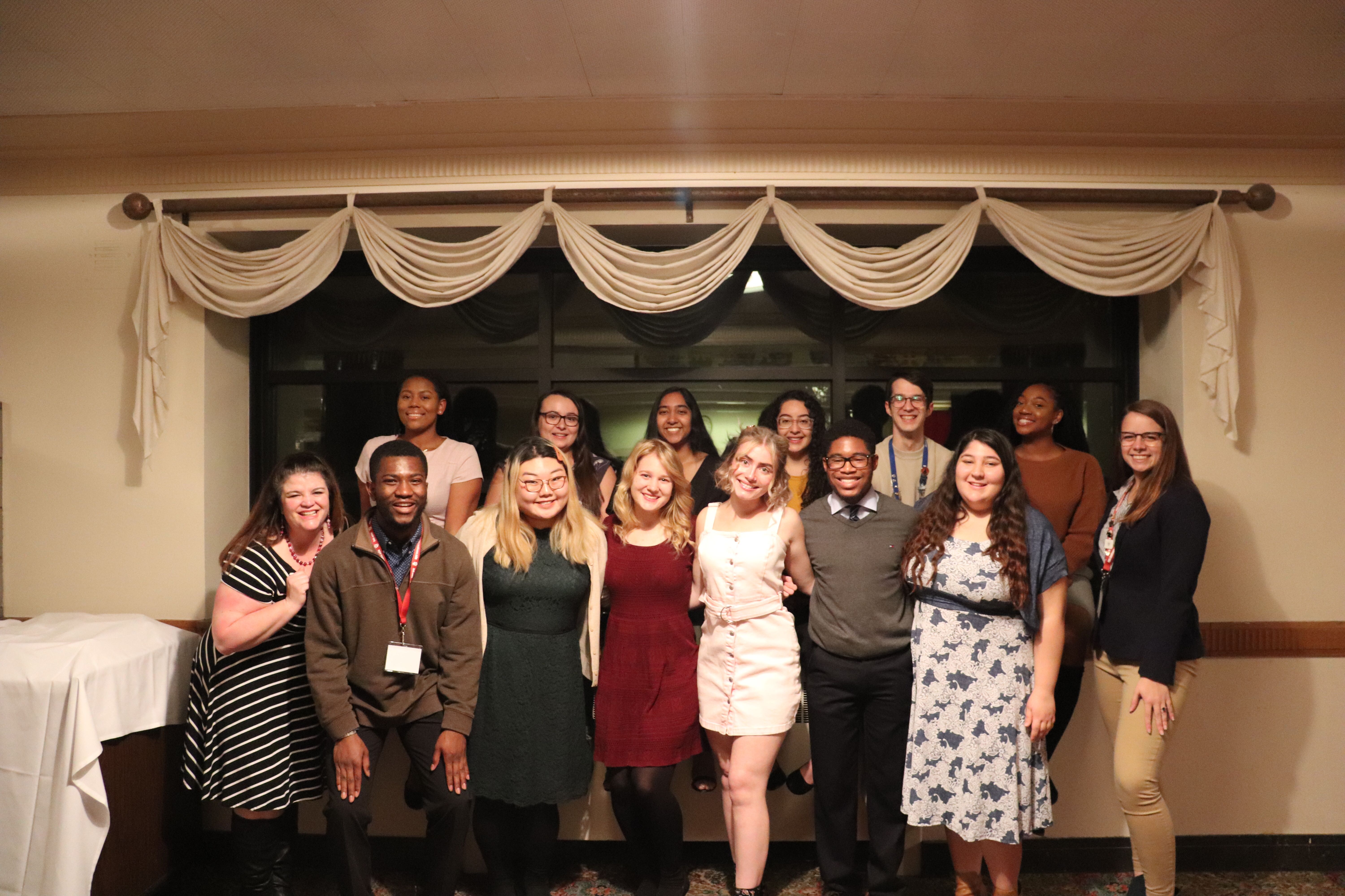 RHA & on-campus students at GLACURH 2019